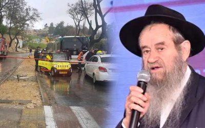 Tragédie à Jérusalem : le Rav Amram Bloy, directeur du Kollel Habad, a été tué dans un accident de bus