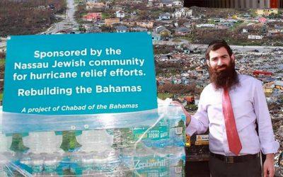 Les Juifs du monde entier soutiennent les survivants de l'ouragan Dorian aux Bahamas